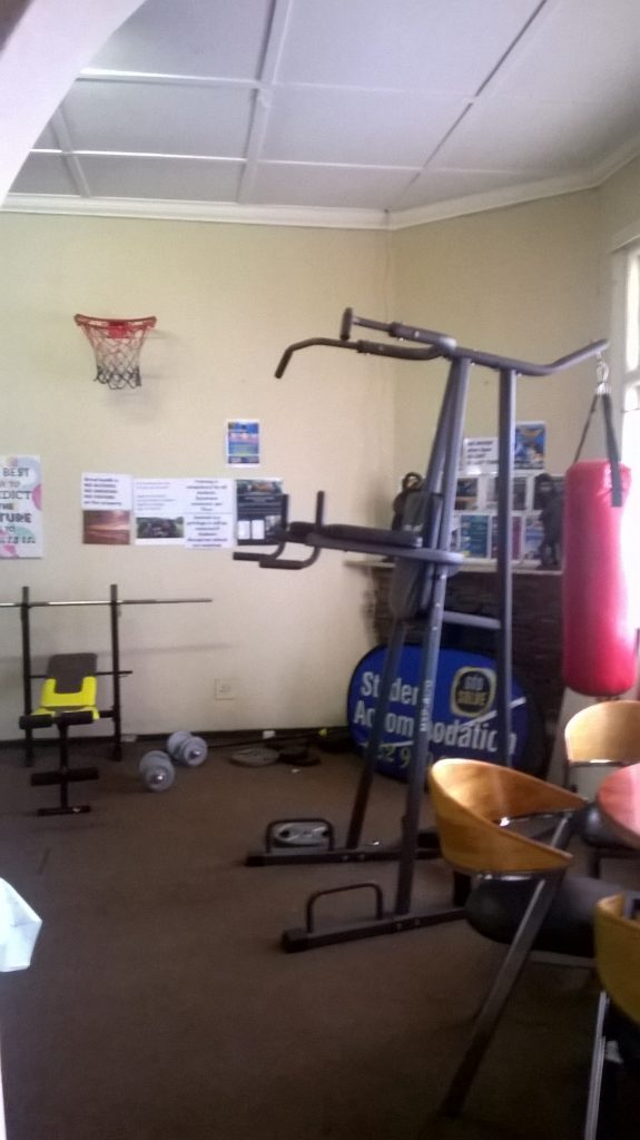GYM EQUIPMENT2 at student accommodation durban godsolve