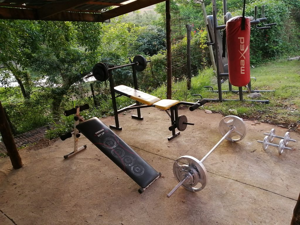 GYM EQUIPMENT4 at student accommodation durban godsolve