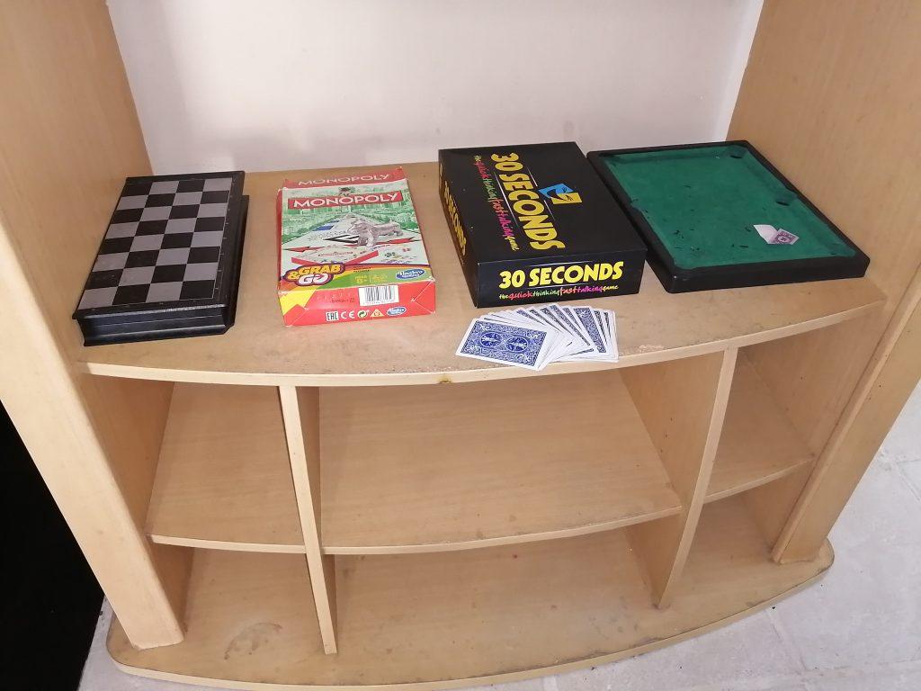 Games at accommodation durban